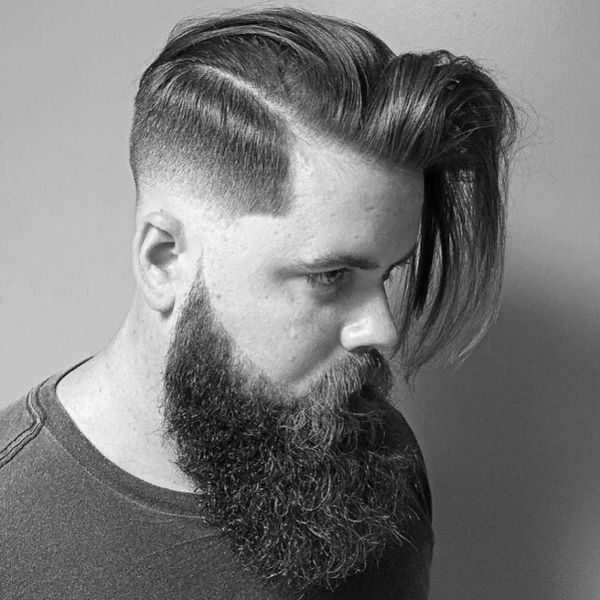 Ideas of Mens Hairstyles with Shaved Sides Long Top 2