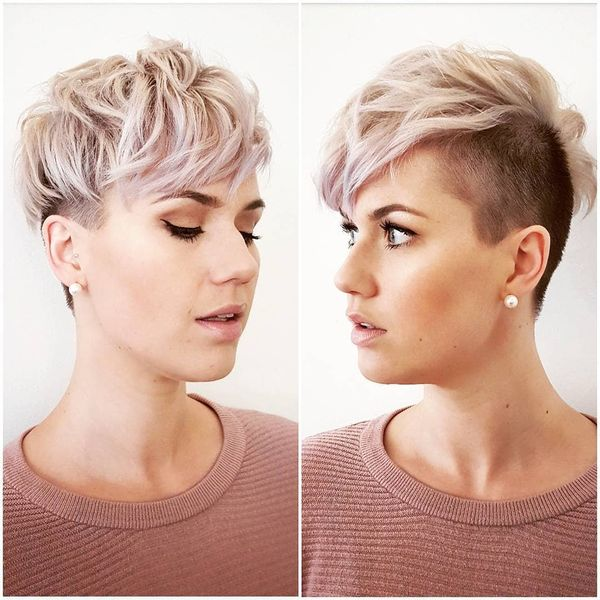40 Awesome Undercut Hairstyles For Women January 2019