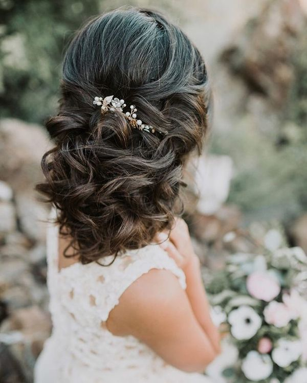 Wedding Hairstyles For Young Bridesmaids: Wedding Hairstyles For Long Hair, Bridal Updos For Long