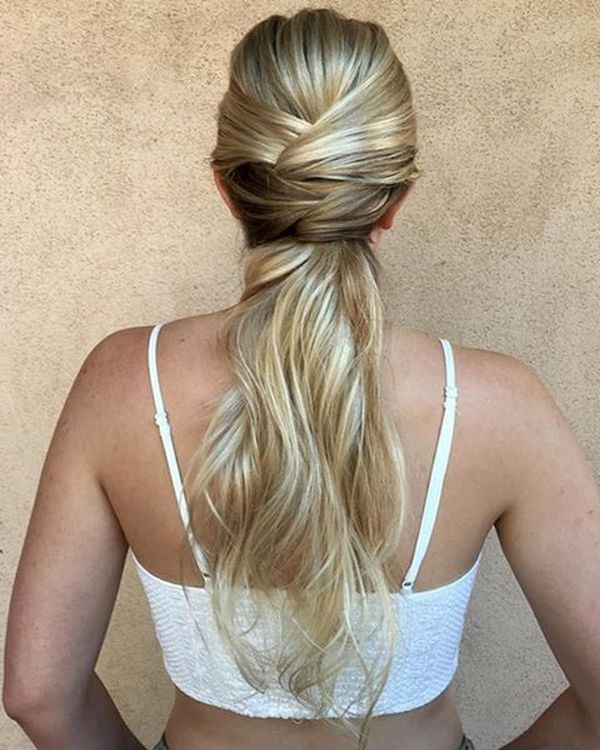 Massive Braid Half-Up Ponytail