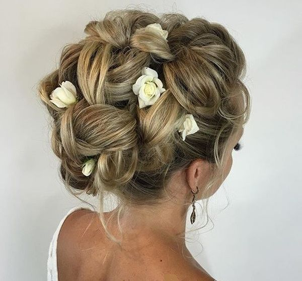 upstyle hair styles 80 wedding hairstyles for brides with hair 2017 edition 6100
