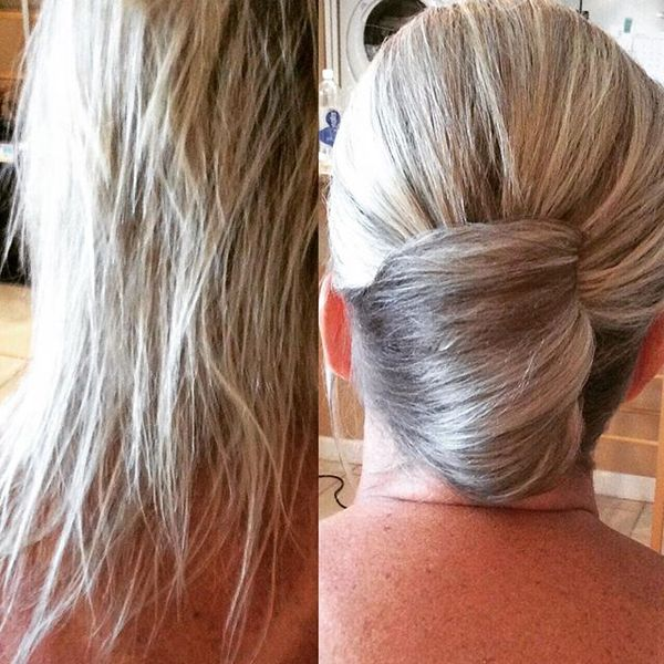 Classic Twisted Low Bun
