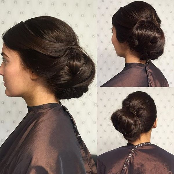 Side Bun with Sweeping Movement