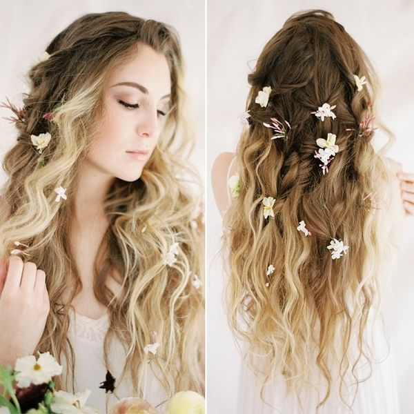 65 New Romantic Long Bridal Wedding Hairstyles To Try: Wedding Hairstyles For Long Hair, Bridal Updos For Long