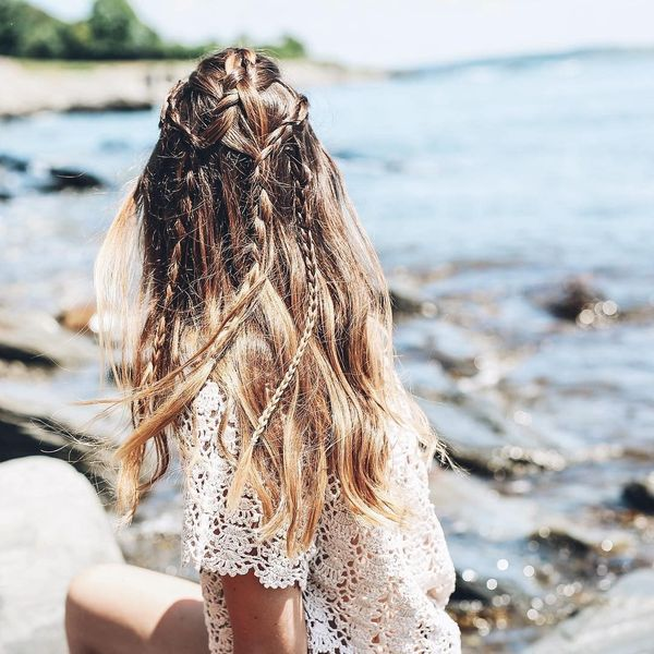 Cute Easy Boho Hairstyles with Braids 1