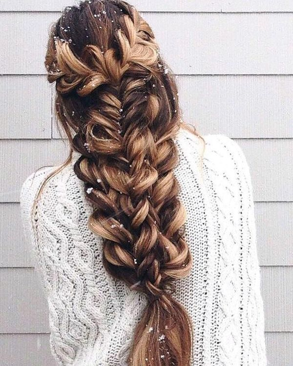 Amazing French plait