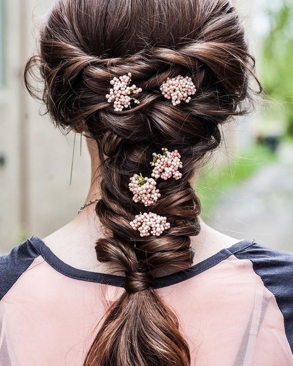 Chic Bohemian Hairstyles with Curls 1