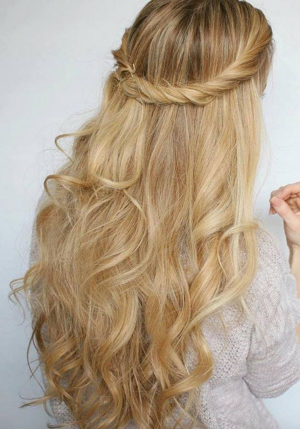 Top Trendy Long Hairstyles for Prom 2