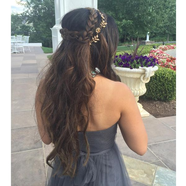 Chic Bohemian Hairstyles with Curls 7
