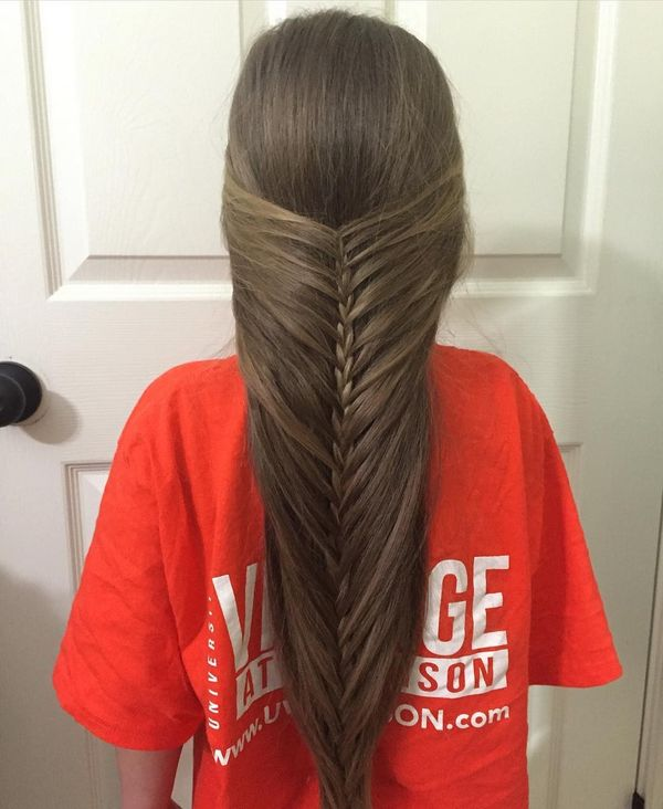 Outstanding fishtail