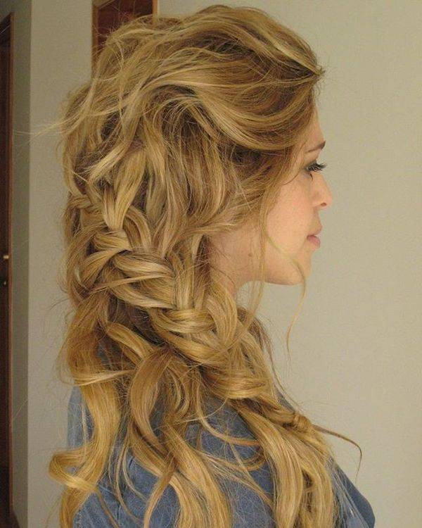 Cute Easy Boho Hairstyles with Braids 5