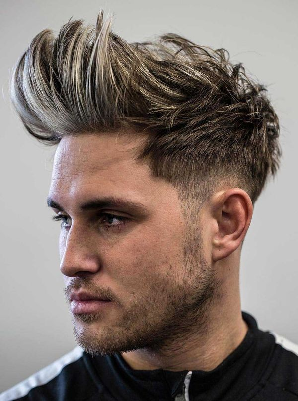 Male Faux Mohawk Ideas For Long Hair 3