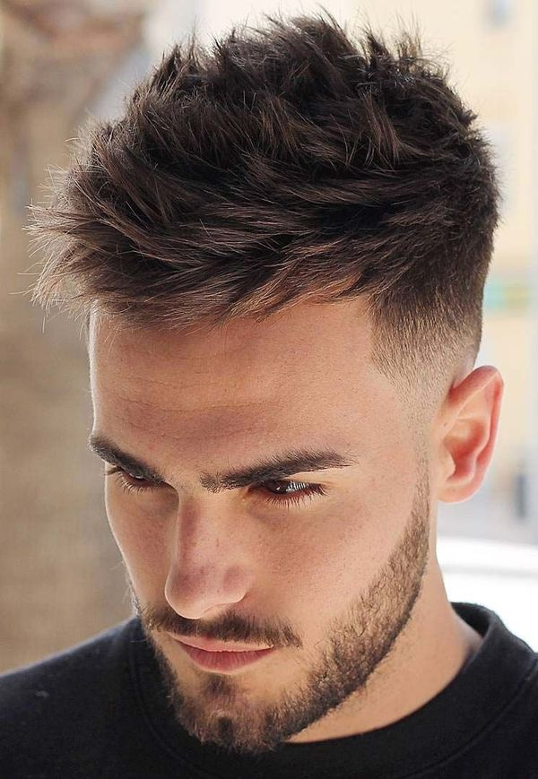 Messy Mens Fohawk Haircut 2