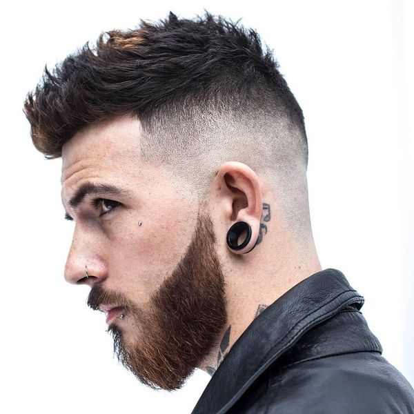 Tips On How To Style a Fauxhawk For Guys 3