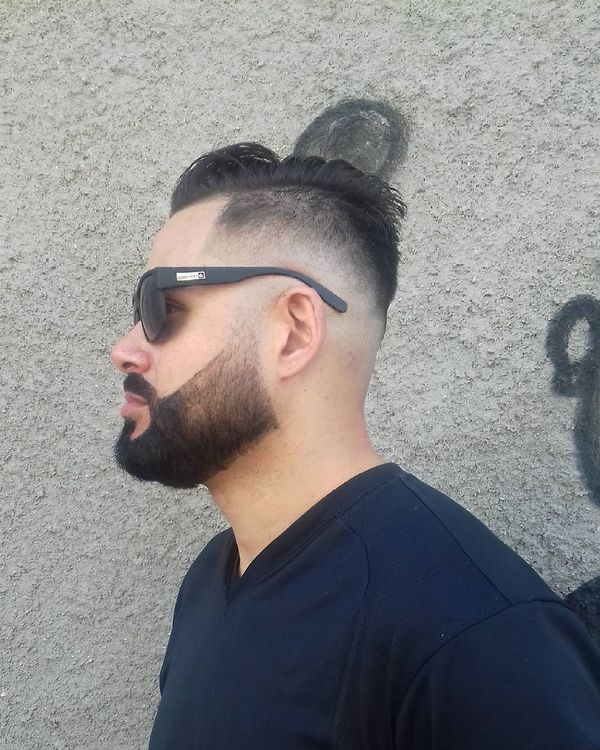 1 A perfect combination of cool beard and haircut