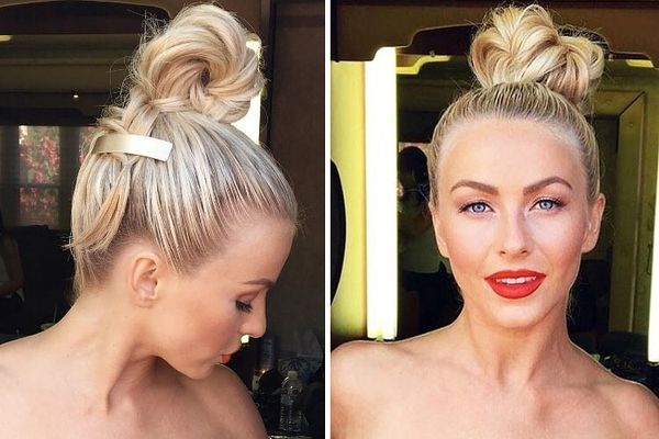 Give These Julianne Hough Updo Styles a Try 2