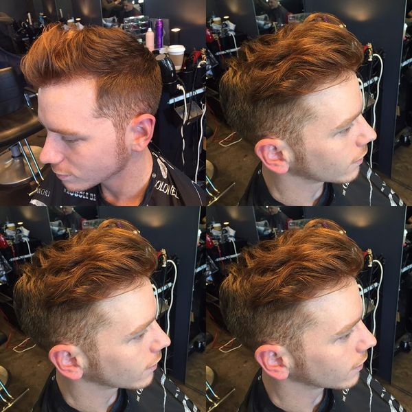 The undercut with the long, laid-back waves