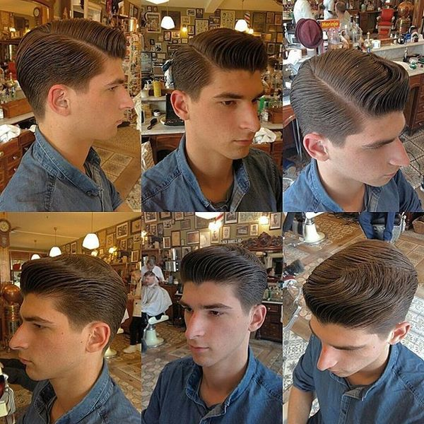 Rockabilly Hairstyles For Guys Greaser Haircuts For Men