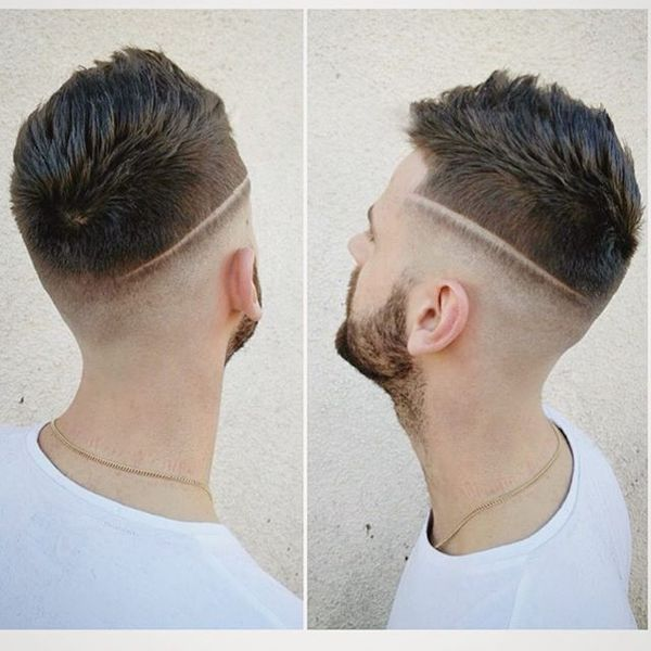 Spiky Cut with Low Hard Part
