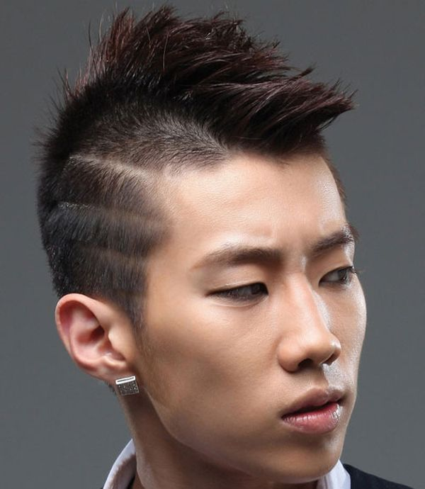 15 Stylish Mohawk with the designs