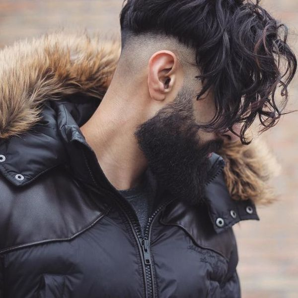 Messy Hairstyles for Men with Curly Hair 2