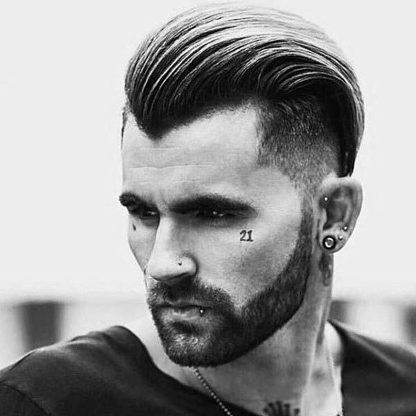 Undercut with the slicked back top