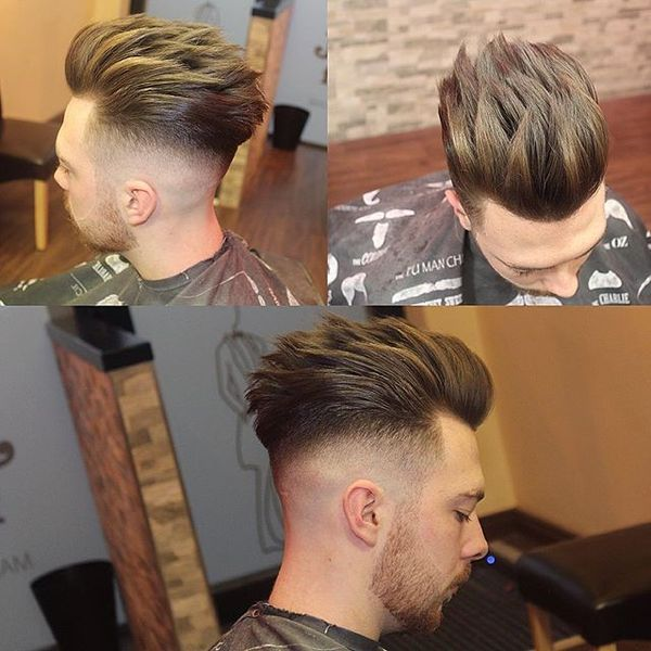Spiky Blowout for Thick Hair