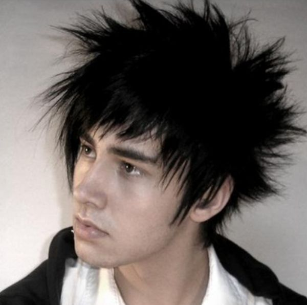 5 Crazy spiky hairstyle
