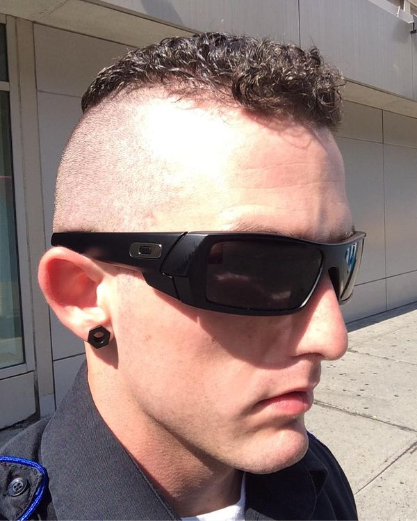 7 The high and tight for curly hair