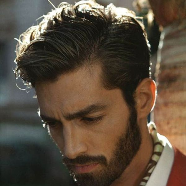 8 The Sinuous Hairstyle for the Romantic Characters