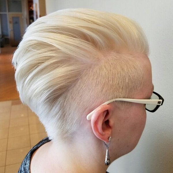 Artistically Shaved Temples for the Short Undercut1