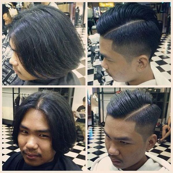 Asian male hairstyles with side part 3