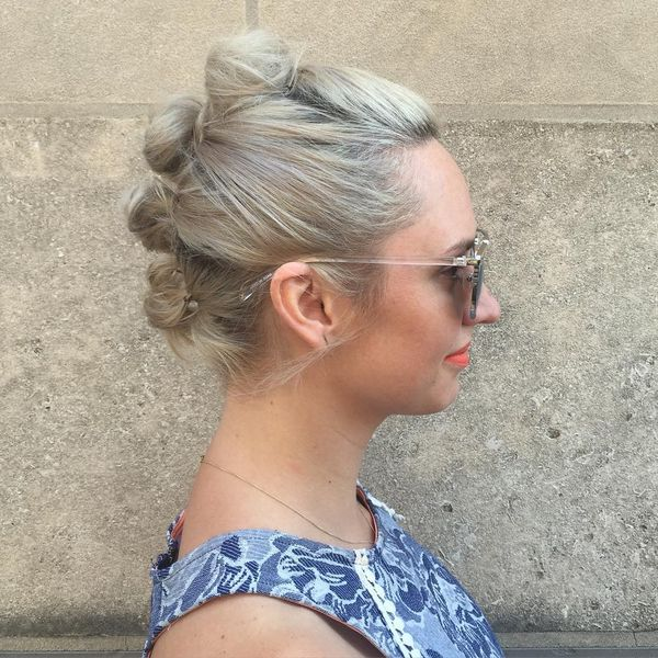 Quick and Easy Updos for Short Hair to Do Yourself 2