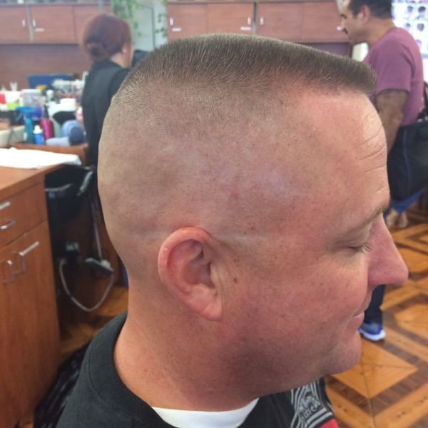 Classic Military High And Tight Hairstyle 3