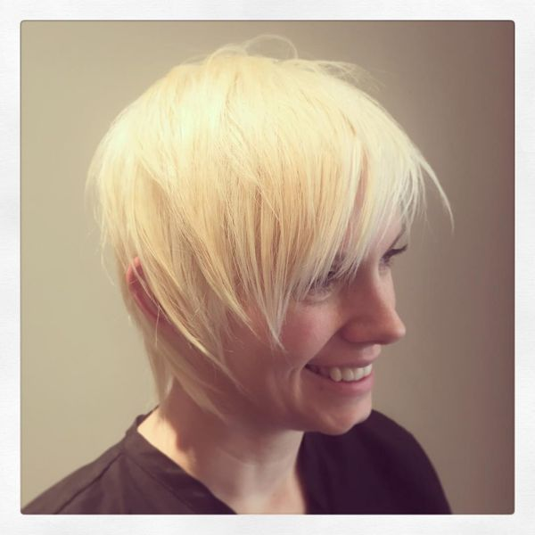 Oblique Straight Sharp Spiky And Cascading Bangs In