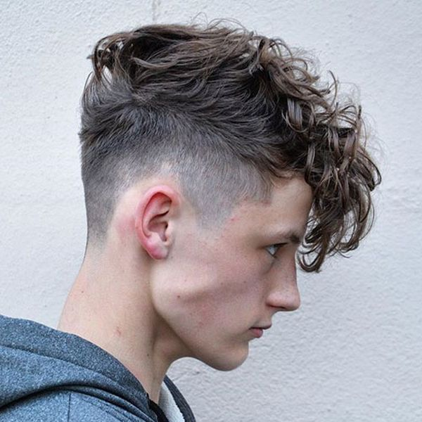 Easy to Style Curly Hairstyles for Men 4