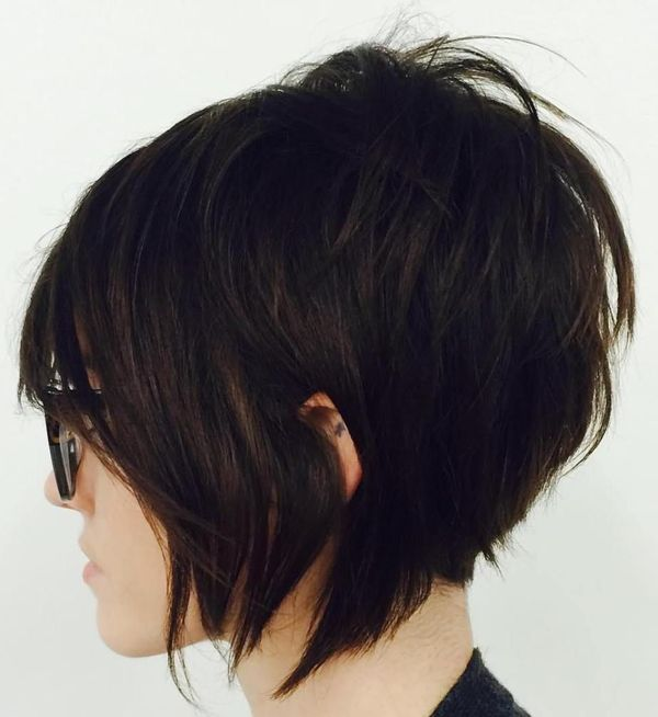 Edgy short shag hairstyles 4