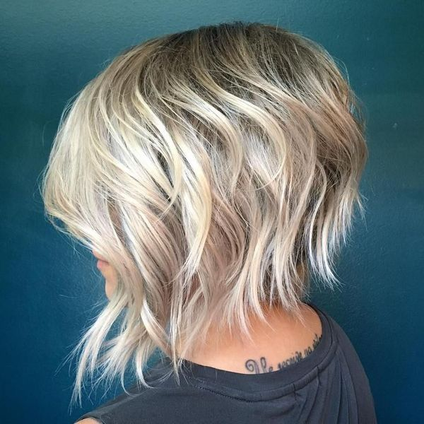 Edgy short shag hairstyles 7