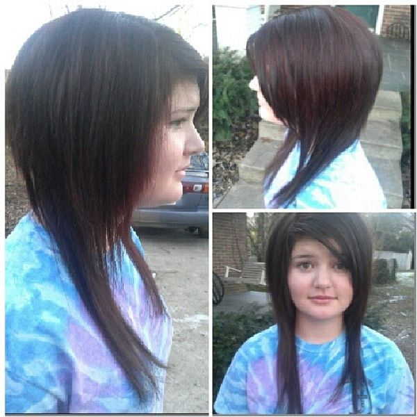 Excellent Dyed Shag Cut for Long Hair
