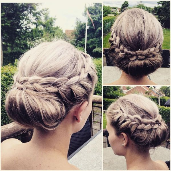 Exquisite Hairstyle for Young Ladies