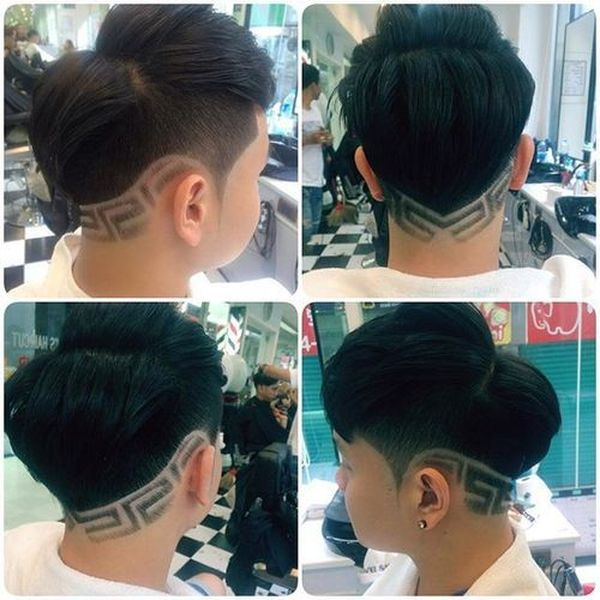 Great examples of Asian fade haircut for men 3