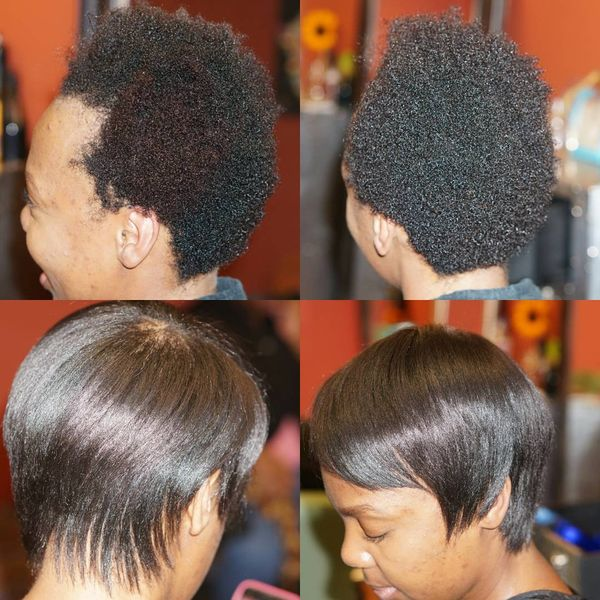 Short Natural Hairstyles For Black Women March 2019