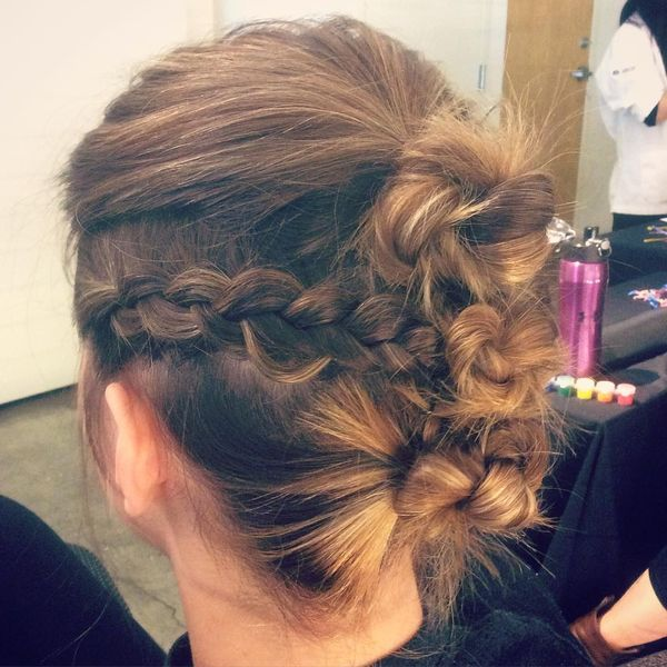 Casual Short Updos to Try if You Wear Bob 1