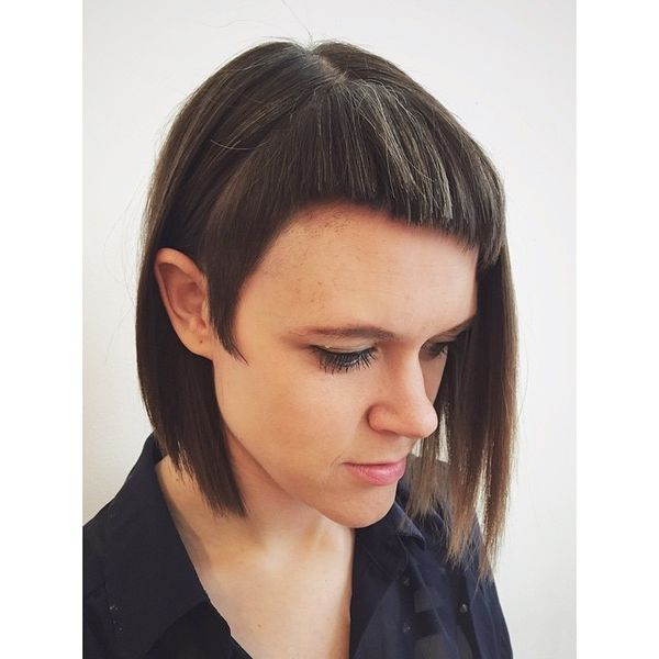 Medium Length Bob with a Fringe1516