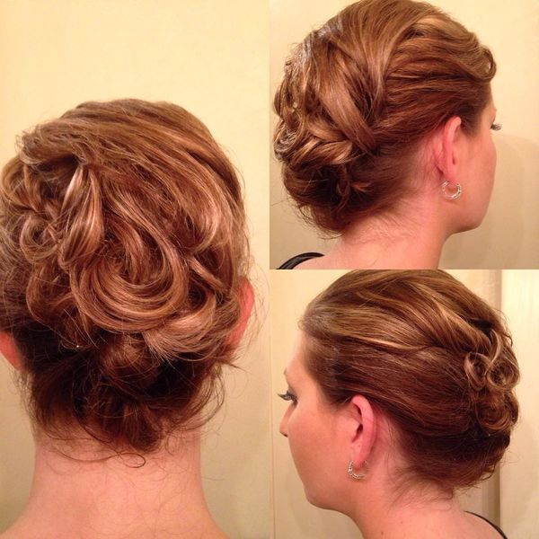 Formal Updo Hairstyles for Short Hair 1