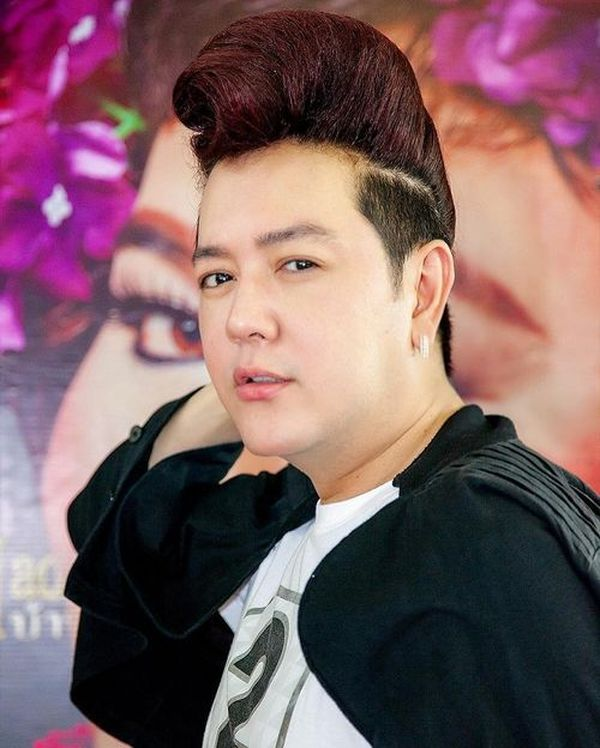 Pompadour style for Asian guys 3