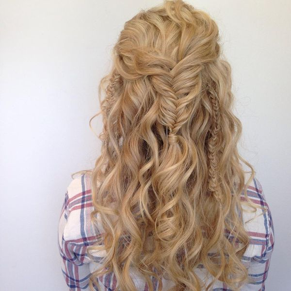 Romantic Waves with Careless Braids