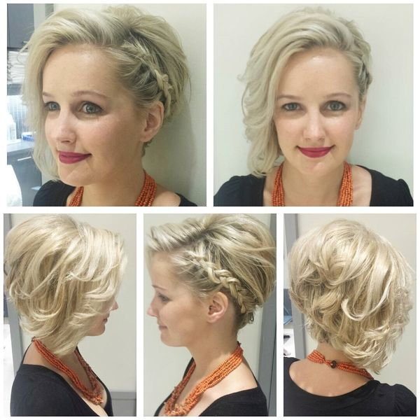 Stunning Layered Hairstyle with a Braided Design0