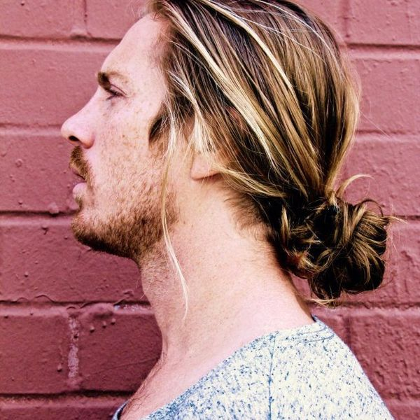 The best ideas for low man buns 3