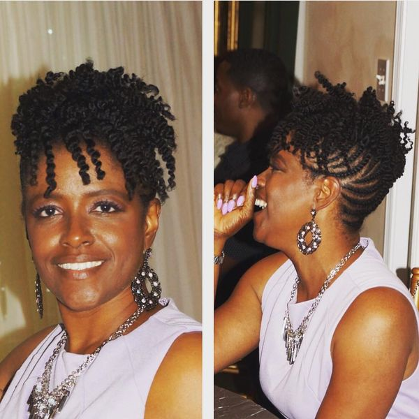 Short Natural Hairstyles For Black Women December 2019